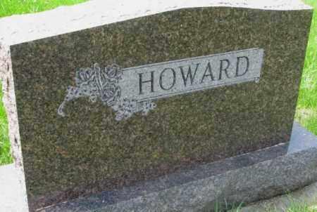HOWARD, PLOT - Dakota County, Nebraska   PLOT HOWARD - Nebraska Gravestone Photos