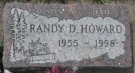 HOWARD, RANDY D. - Dakota County, Nebraska | RANDY D. HOWARD - Nebraska Gravestone Photos