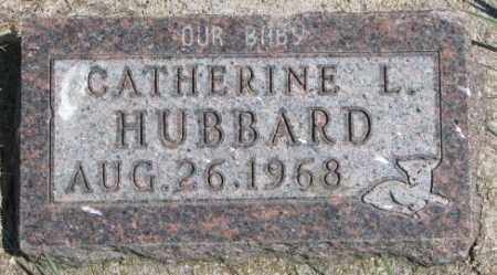 HUBBARD, CATHERINE L. - Dakota County, Nebraska | CATHERINE L. HUBBARD - Nebraska Gravestone Photos