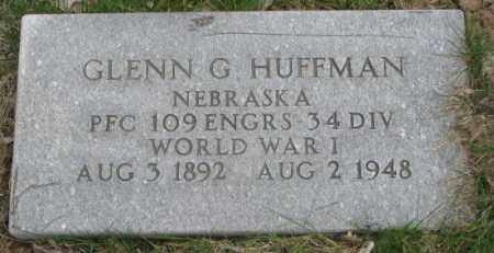 HUFFMAN, GLENN G. - Dakota County, Nebraska   GLENN G. HUFFMAN - Nebraska Gravestone Photos