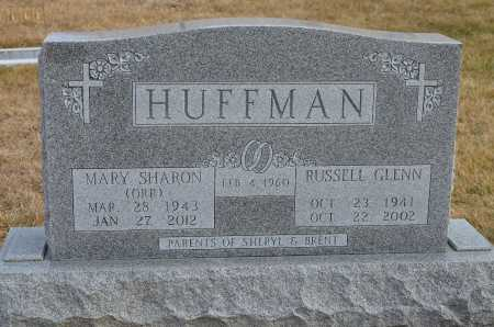 ORR HUFFMAN, MARY SHARON - Dakota County, Nebraska | MARY SHARON ORR HUFFMAN - Nebraska Gravestone Photos