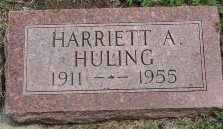 HULING, HARRIETT A. - Dakota County, Nebraska | HARRIETT A. HULING - Nebraska Gravestone Photos
