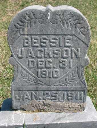 JACKSON, BESSIE - Dakota County, Nebraska | BESSIE JACKSON - Nebraska Gravestone Photos
