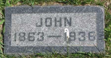 JACKSON, JOHN - Dakota County, Nebraska | JOHN JACKSON - Nebraska Gravestone Photos