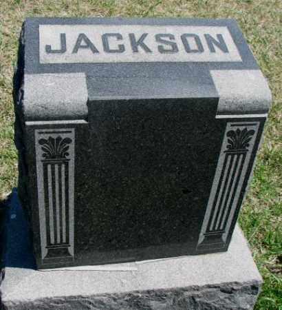 JACKSON, PLOT - Dakota County, Nebraska | PLOT JACKSON - Nebraska Gravestone Photos