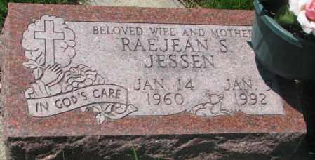 JESSEN, RAEJEAN S. - Dakota County, Nebraska   RAEJEAN S. JESSEN - Nebraska Gravestone Photos