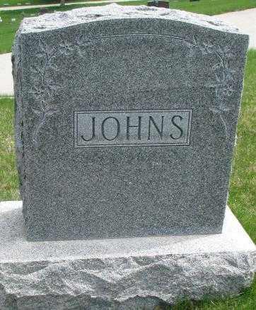 JOHNS, PLOT - Dakota County, Nebraska | PLOT JOHNS - Nebraska Gravestone Photos
