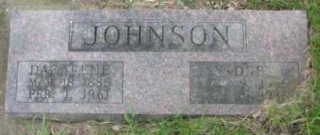 JOHNSON, DAZARENE - Dakota County, Nebraska   DAZARENE JOHNSON - Nebraska Gravestone Photos