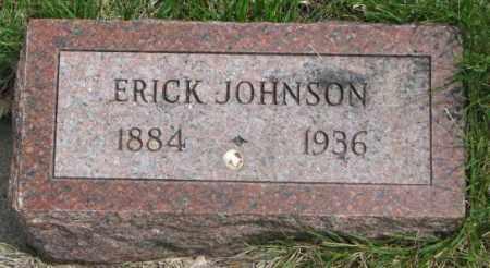 JOHNSON, ERICK - Dakota County, Nebraska   ERICK JOHNSON - Nebraska Gravestone Photos