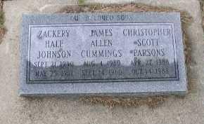 CUMMINGS, JAMES ALLEN - Dakota County, Nebraska | JAMES ALLEN CUMMINGS - Nebraska Gravestone Photos