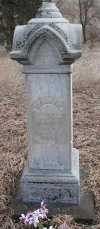 LUND JOPP, MINNIE - Dakota County, Nebraska | MINNIE LUND JOPP - Nebraska Gravestone Photos