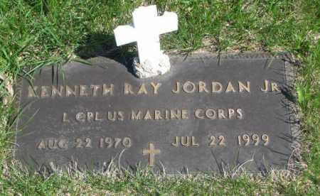 JORDAN, KENNETH RAY JR. - Dakota County, Nebraska | KENNETH RAY JR. JORDAN - Nebraska Gravestone Photos