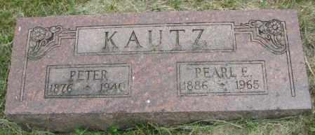 KAUTZ, PEARL E. - Dakota County, Nebraska | PEARL E. KAUTZ - Nebraska Gravestone Photos
