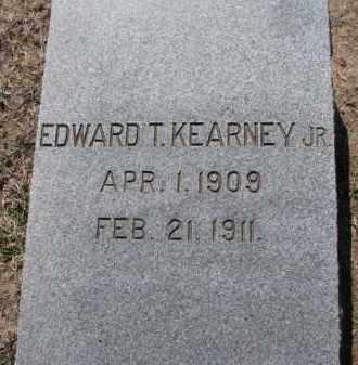 KEARNEY, EDWARD T. JR. - Dakota County, Nebraska | EDWARD T. JR. KEARNEY - Nebraska Gravestone Photos