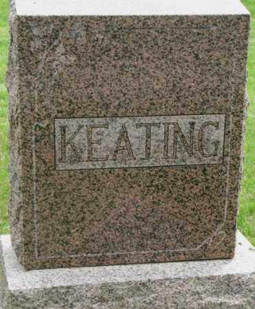 KEATING, PLOT - Dakota County, Nebraska | PLOT KEATING - Nebraska Gravestone Photos