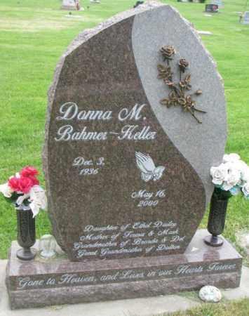 BAHMER KELLER, DONNA M. - Dakota County, Nebraska | DONNA M. BAHMER KELLER - Nebraska Gravestone Photos