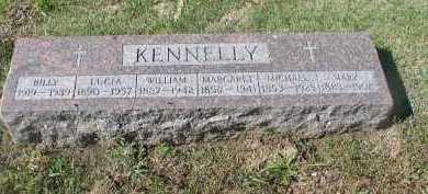 KENNELLY, LUCIA - Dakota County, Nebraska | LUCIA KENNELLY - Nebraska Gravestone Photos