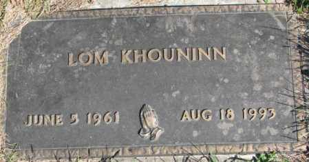 KHOUNINN, LOM - Dakota County, Nebraska | LOM KHOUNINN - Nebraska Gravestone Photos