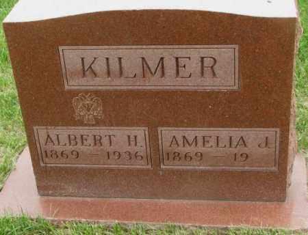 KILMER, ALBERT H. - Dakota County, Nebraska | ALBERT H. KILMER - Nebraska Gravestone Photos
