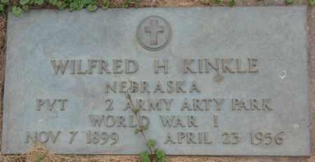 KINKLE, WILFRED H. - Dakota County, Nebraska   WILFRED H. KINKLE - Nebraska Gravestone Photos
