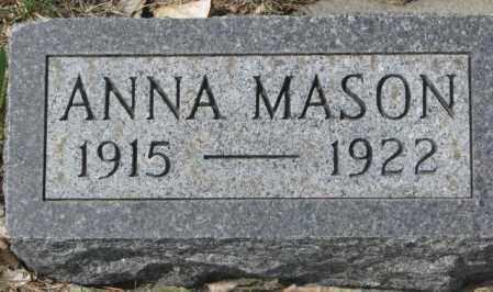 KIPPER, ANNA MASON - Dakota County, Nebraska | ANNA MASON KIPPER - Nebraska Gravestone Photos