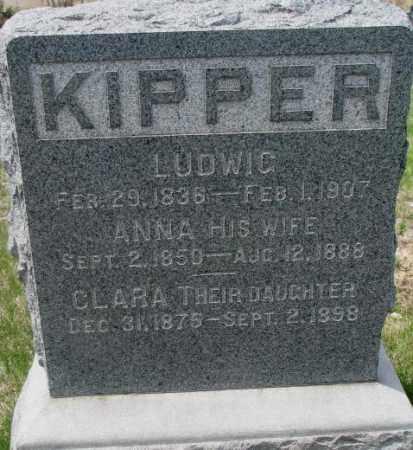 KIPPER, LUDWIG - Dakota County, Nebraska | LUDWIG KIPPER - Nebraska Gravestone Photos