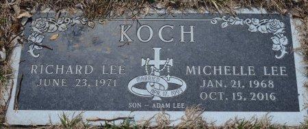KOCH, RICHARD LEE - Dakota County, Nebraska | RICHARD LEE KOCH - Nebraska Gravestone Photos