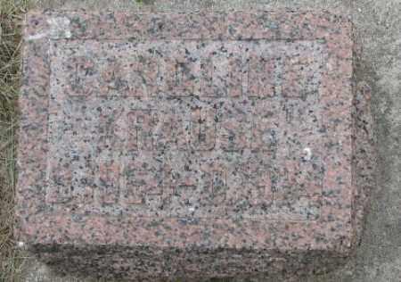 KRAUSE, CAROLINE - Dakota County, Nebraska   CAROLINE KRAUSE - Nebraska Gravestone Photos