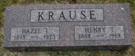 KRAUSE, HAZEL I. - Dakota County, Nebraska | HAZEL I. KRAUSE - Nebraska Gravestone Photos