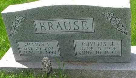 KRAUSE, PHYLLIS J. - Dakota County, Nebraska | PHYLLIS J. KRAUSE - Nebraska Gravestone Photos