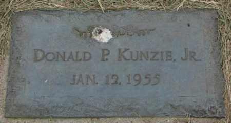 KUNZIE, DONALD P. JR. - Dakota County, Nebraska | DONALD P. JR. KUNZIE - Nebraska Gravestone Photos