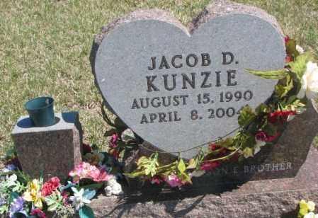 KUNZIE, JACOB D. - Dakota County, Nebraska | JACOB D. KUNZIE - Nebraska Gravestone Photos