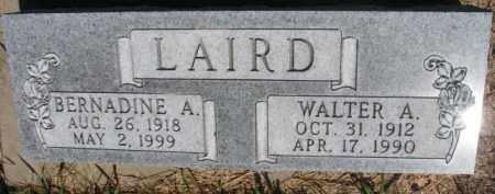 LAIRD, WALTER A. - Dakota County, Nebraska | WALTER A. LAIRD - Nebraska Gravestone Photos