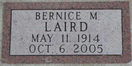 LAIRD, BERNICE M. - Dakota County, Nebraska | BERNICE M. LAIRD - Nebraska Gravestone Photos