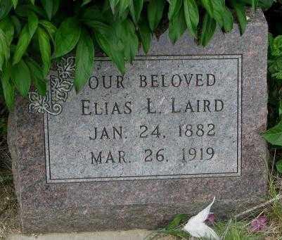 LAIRD, ELIAS L. - Dakota County, Nebraska | ELIAS L. LAIRD - Nebraska Gravestone Photos