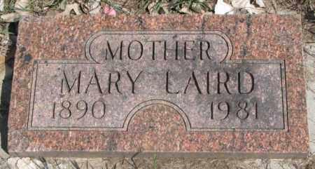 LAIRD, MARY - Dakota County, Nebraska | MARY LAIRD - Nebraska Gravestone Photos