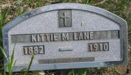 LANE, KITTIE M. - Dakota County, Nebraska   KITTIE M. LANE - Nebraska Gravestone Photos