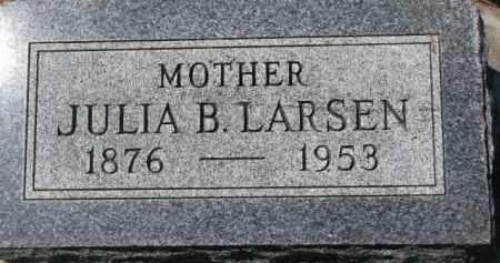 LARSEN, JULIA B. - Dakota County, Nebraska | JULIA B. LARSEN - Nebraska Gravestone Photos