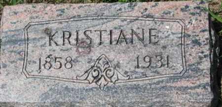LARSEN, KRISTIANE - Dakota County, Nebraska | KRISTIANE LARSEN - Nebraska Gravestone Photos