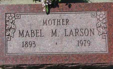 LARSON, MABEL M. - Dakota County, Nebraska | MABEL M. LARSON - Nebraska Gravestone Photos