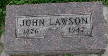LAWSON, JOHN - Dakota County, Nebraska | JOHN LAWSON - Nebraska Gravestone Photos