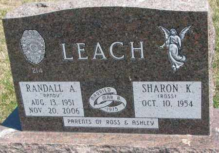ROSS LEACH, SHARON K. - Dakota County, Nebraska | SHARON K. ROSS LEACH - Nebraska Gravestone Photos