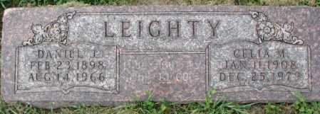 LEIGHTY, DANIEL J. - Dakota County, Nebraska | DANIEL J. LEIGHTY - Nebraska Gravestone Photos