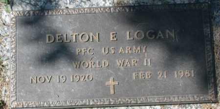 LOGAN, DELTON E. - Dakota County, Nebraska   DELTON E. LOGAN - Nebraska Gravestone Photos