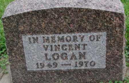LOGAN, VINCENT - Dakota County, Nebraska   VINCENT LOGAN - Nebraska Gravestone Photos