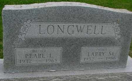 LONGWELL, PEARL L. - Dakota County, Nebraska | PEARL L. LONGWELL - Nebraska Gravestone Photos