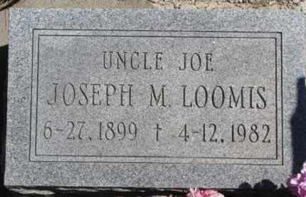 LOOMIS, JOSEPH M. - Dakota County, Nebraska | JOSEPH M. LOOMIS - Nebraska Gravestone Photos