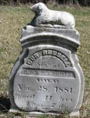 LOOMIS, RUSSELL - Dakota County, Nebraska   RUSSELL LOOMIS - Nebraska Gravestone Photos