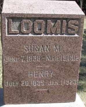 LOOMIS, SUSAN - Dakota County, Nebraska | SUSAN LOOMIS - Nebraska Gravestone Photos