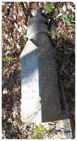 LOVE, JAMES - Dakota County, Nebraska   JAMES LOVE - Nebraska Gravestone Photos